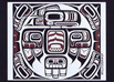 northwest coast eagle totem