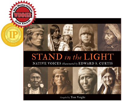 Stand in the Light Book Cover with awards